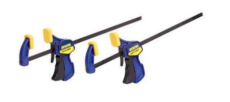 Irwin Quick-Grip Bar Clamp 12 in. L 2 pk