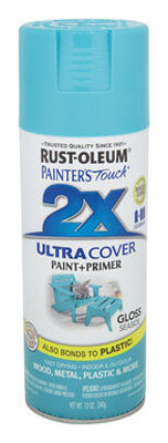 Rust-Oleum Painter's Touch Ultra Cover Seaside Gloss 2x Enamel Spray 12 oz.