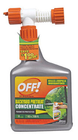 OFF! Backyard Pretreat Concentrate 32 oz. RTU Insect Killer