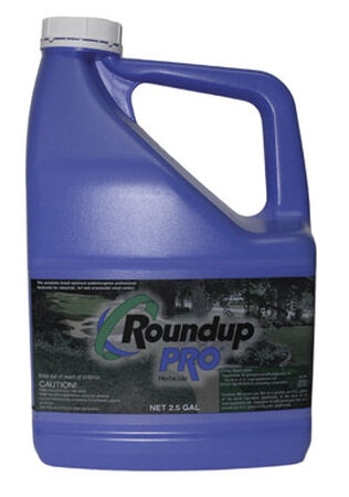 Roundup Pro Weed and Grass Killer 2.5 gal.