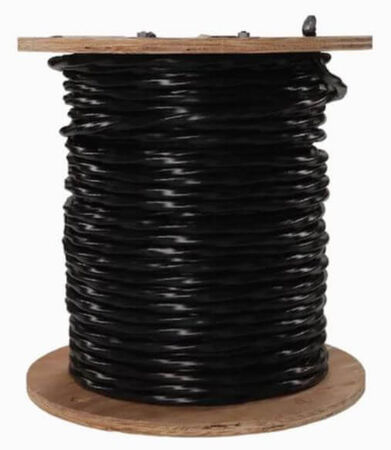 Wire Romex NM 4/3 W/G 125' - Sold by the foot