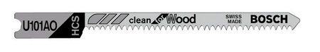 Bosch High Carbon Steel U-Shank 2-3/4 in. L Jig Saw Blade 20 TPI 3 pk