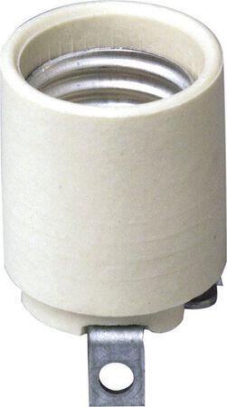 Leviton 660 watts 250 volts Keyless Socket White