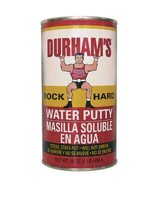 Durham's Rock Hard Natural Cream Water Putty 16 oz.