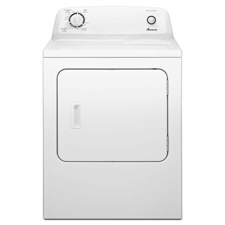 Amana® 6.5 cu. ft. Electric Dryer with Wrinkle Prevent Option - White