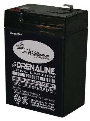 6-Volt eDRENALINE Tab Style Rechargeable Battery