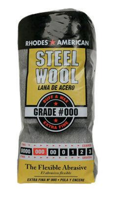 Rhodes American 4 in. W x 8-3/4 in. L Extra Fine 000 Grade Steel Wool