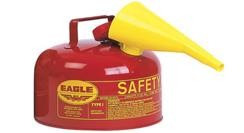 Safety Gas Can >> Eagle Steel Safety Gas Can 2 Gal