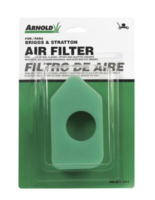 Arnold Small Engine Air Filter For 3.5 and 4.5 HP