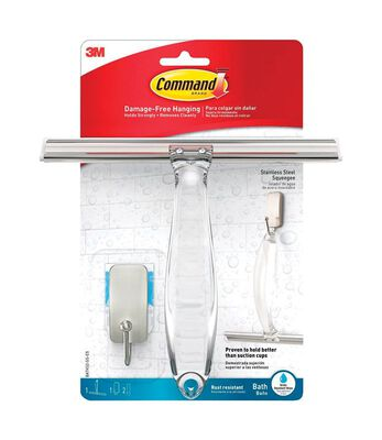 3M COMMAND Small ADHESIVE STRIPS Hook 7.9 in. L PLASTIC .5 oz. 1 pk