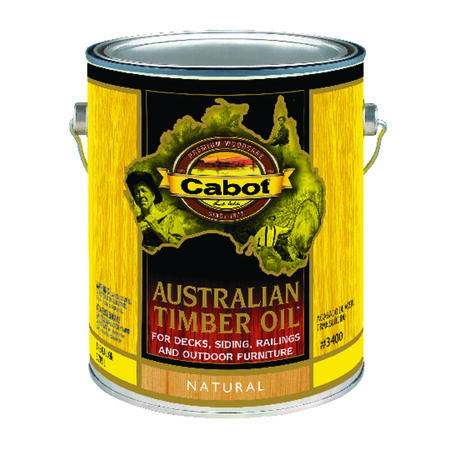 Cabot Transparent Oil-Based Australian Timber Oil Natural 1 gal.