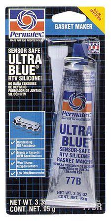 Permatex Ultra Blue No Leak RTV Silicon Gasket 3.35 oz. -75 to 500 deg. F