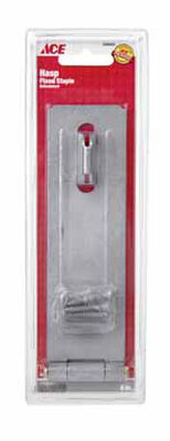 Ace Galvanized Steel Fixed Staple Safety Hasp 6 in. L