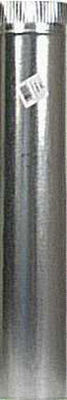 Imperial Manufacturing 3 in. Dia. x 24 in. L Galvanized Steel Stove Pipe Metallic