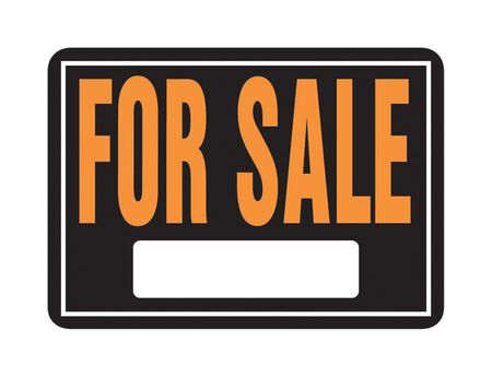 Hy-Ko English 10 in. H x 14 in. W Aluminum Sign For Sale