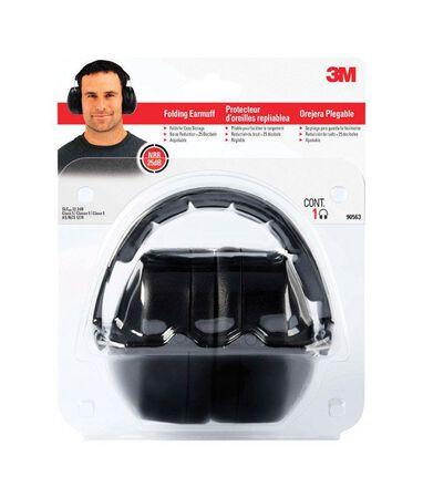 3M Reusable Folding Earmuffs 25 dB Black