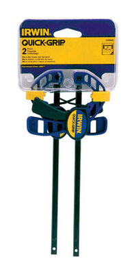 Irwin Quick-Grip Clamp and Spreader 6 in. L 2 pk