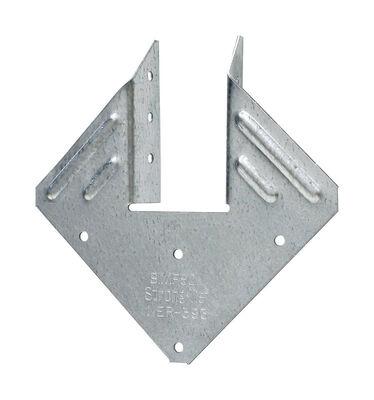 Simpson Strong-Tie Galvanized Steel Hurricane Tie 5-1/4 in. H x 5-1/4 in. W 18 Ga.