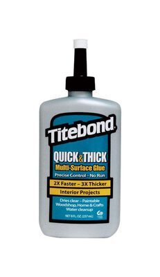 Titebond Quick & Thick Multi-Surface Glue 8 oz.