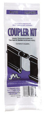 Master Mark Black Plastic Edging Coupler Kit
