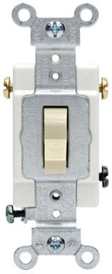 Leviton Framed 20 amps Toggle 3-Way Switch Single Pole