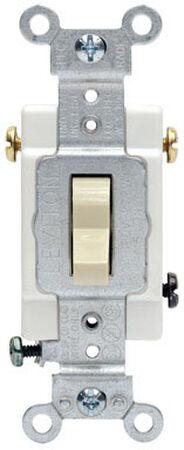 Leviton Framed 20 amps Toggle 3-Way Switch Single Pole