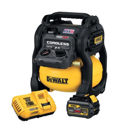 DeWalt FLEXVOLT 60V MAX Air Compressor 135 psi 2.5 gal.