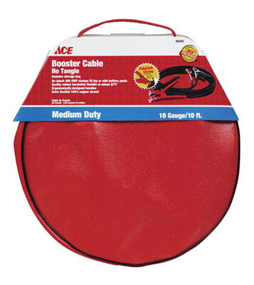 Ace Cable Booster and Bag 225 amps 10 Ga. 10 ft. L