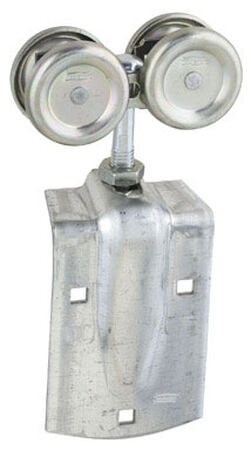 Stanley Steel Box Rail Hangers 5-1/4 in. W x 11-1/8 L 2 pk