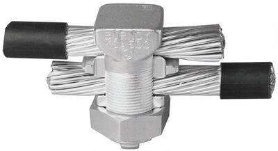 Burndy Tritap Servit Split Bolt Connector Silver 7/8 in. Dia. 1 pk