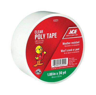 Ace Duct Tape 1.88 in. W x 36 yd. L Clear