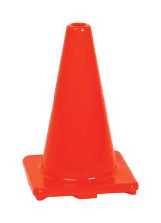 Hy-Ko Plastic Safety Cone 12 in.