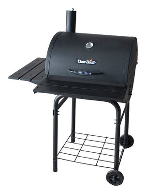 Char-Broil Charcoal 43.5 in. H Grill Black