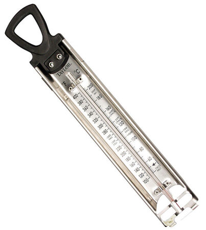 Taylor Confectionery/Deep Fry Thermometer Confectionery/Deep Fry 100 to 400 deg. F 40 to 200 deg. C