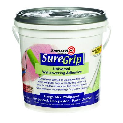 Zinsser SureGrip Universal Wallcovering Adhesive 1 gal.