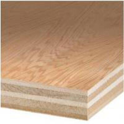 """Plywood Oak 4' x 8' x 3/4"""""""