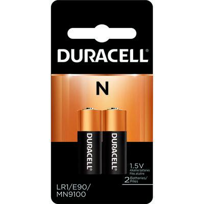 Duracell Alkaline N 1.5 volts Medical Battery MN9100B2PK