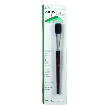 Linzer 1 in. W Flat Touch-Up Paint Brush