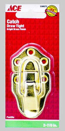 Ace Bright Brass Decorative Draw Catch 2 pk