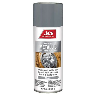 Ace Chrome Metallic Spray Paint 11.5 oz.
