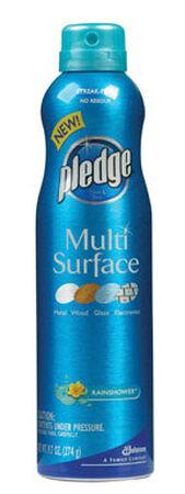 Pledge Rainshower Scent Multi-Surface Cleaner 9.7 oz. Liquid