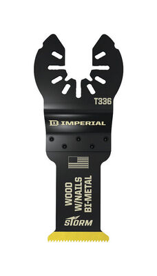 Imperial Blades Storm Bi-Metal Saw Blade 1-1/4 in. W