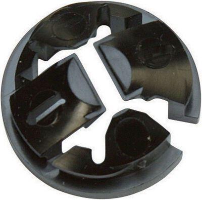 Gampak Sigma Non-metallic Cable Connector Black 1/2 in. Dia. 1