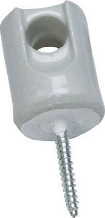 Sigma 1-11/16 in. Dia. Steel Porcelain Wireholder