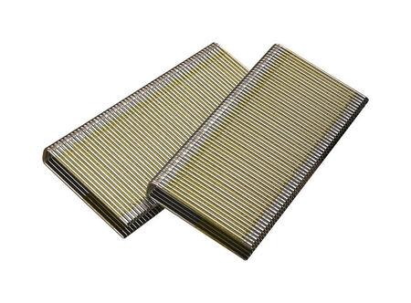 Senco 7/16-inch Medium Crown Staples Gray 1-3/4 in. L