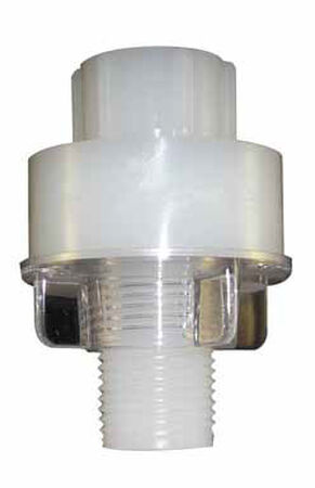 Ace Plastic Faucet Shank Extender 1/2 in. Dia.