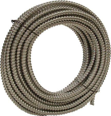 Southwire 1/2 in. Dia. x 100 ft. L Flexible Electrical Conduit FMC Aluminium