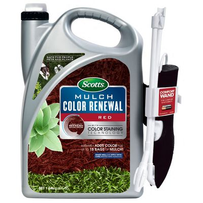 Scotts Mulch Color Renewal Red 1 gal.