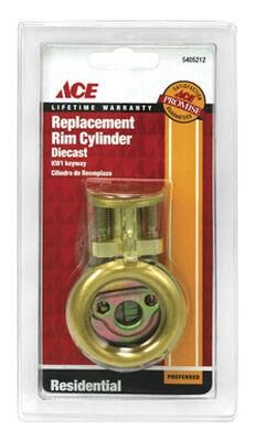 Ace Rim Cylinder Brass Brass