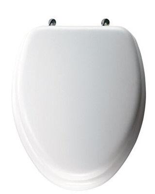 Mayfair Wood Slow Close Toilet Seat Elongated White